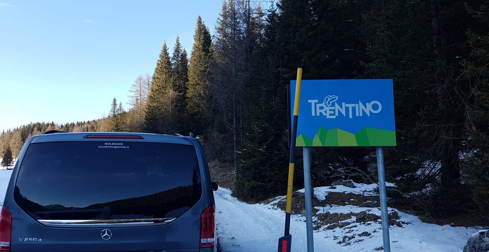 transfer con autista per montagna